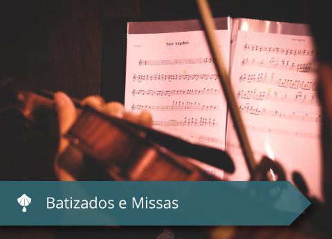 Mater Dei - Orquestra para batizados e missas - Imagem 02