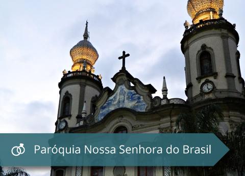 Paroquia Nossa Senhora do Brasil - Capa