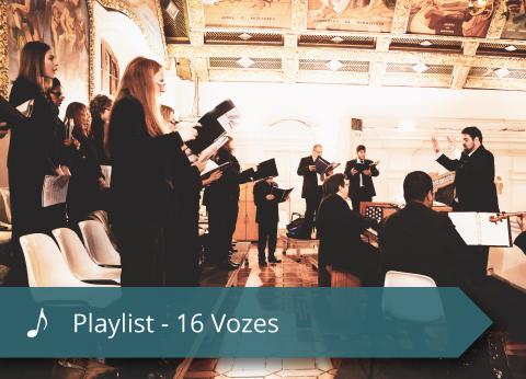 Coral Mater Dei - Playlist - 16 Vozes