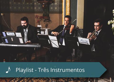 Coral Mater Dei - Playlist - 3 Instrumentos