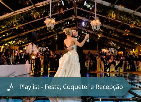 Coral Mater Dei - Playlist - Festa Coquetel e Recepcao
