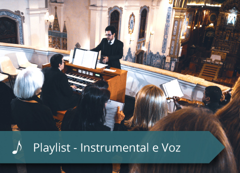 Coral Mater Dei - Playlist - Instrumental e Voz